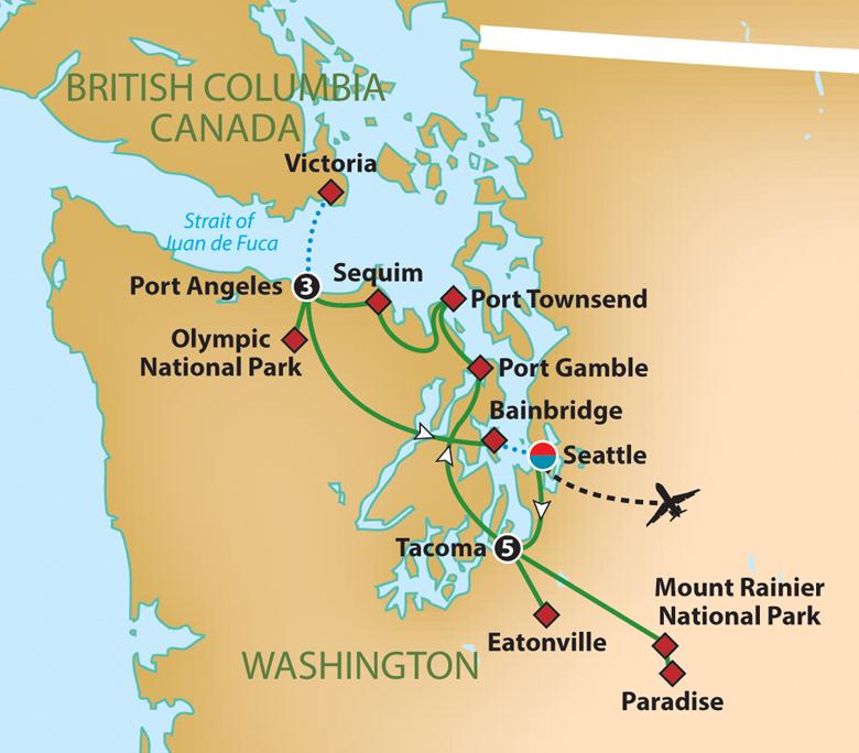 Washington Waterways and National Parks