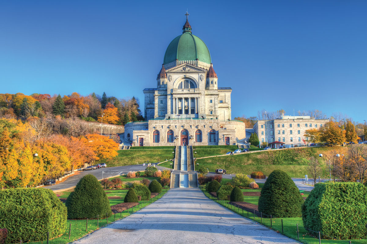 The Colors and Cathedrals of French Canada