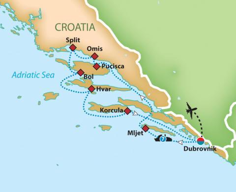Cruising the Adriatic and Dalmatian Coast
