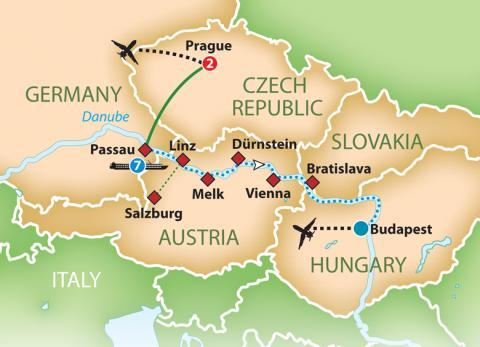 The Legendary Blue Danube River Cruise 2018