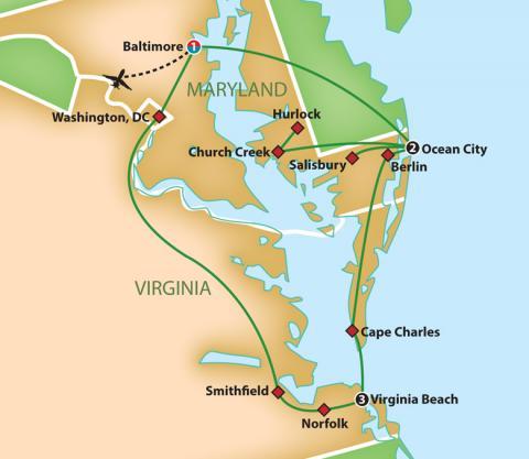 Virginia's Coastal Harvest Feast