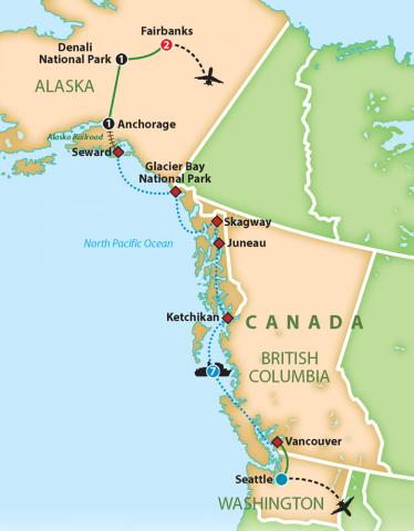 40th Anniversary Alaska Adventure Cruise
